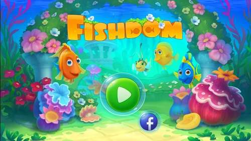 暇つぶしに最適!熱帯魚を育てられるパズルゲームのフィッシュダム(Fishdom)
