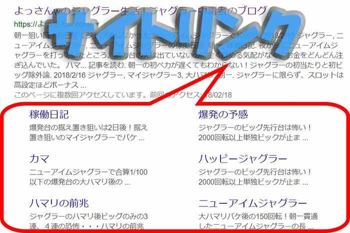 Google検索に表示されるサイトリンクのメリットと表示させる方法