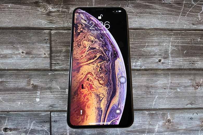 iPhoneXs Maxの液晶保護にルプラスの「PTEC」を購入
