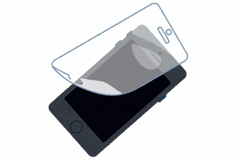 ブルーライトカット!iPhoneXS Maxにルプラスのガラスフィルム(覇龍)を購入